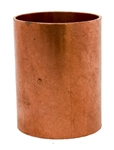 1 1 2 Copper Pipe Coupling with Stop