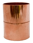 2 Copper Pipe Coupling with Stop