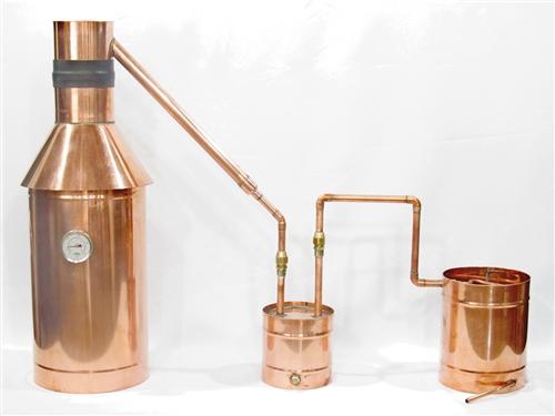 6 Gallon All Copper Moonshine Still