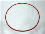 "15-1/2"" OD Hollow Core Silicone O-Ring"