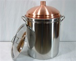 54 QT Copper Dome Still Boiler
