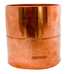 3 Copper Pipe Coupling with Stop