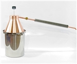 The Cleo Ultimate Stovetop Copper Pot Still, 2-3/4 gallon stovetop still for making moonshine