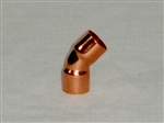 "1/2"" 45 degree Copper Elbow"