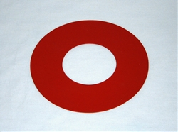 "Silicone 3"" Tube Flange Gasket"