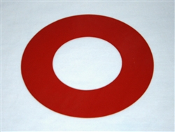 "Silicone 4"" Tube Flange Gasket"