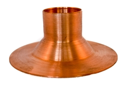 "Mounting Flange, 1.5"" Tube Column, Copper"