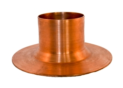 "Mounting Flange, 2"" Tube Column, Copper"