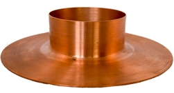 "Mounting Flange, 3"" Tube Column, Copper"