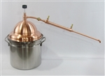 The McCoy Stovetop 5-1/2 Gallon Copper Pot Still