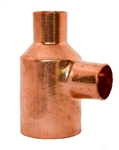 1 1 2 x 3 4 x 3 4 Copper Tee Fitting