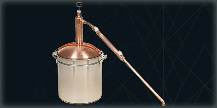 Copper Whiskey Pot Stills   Custom Copper Parts   Home Distilling